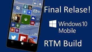 Обновление телефона Lumia 640 до windows 1...
