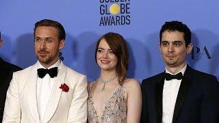 """GOLD - USD """"La La Land"""" foi o grande vencedor da noite dos Globos de Ouro"""