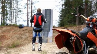 Insane Motocross Jump