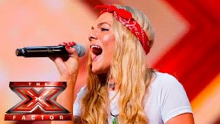 Video Soul singer Louisa Johnson covers Who's Loving You | Auditions Week 1 | The X Factor UK 2015 MP3, 3GP, MP4, WEBM, AVI, FLV Mei 2018