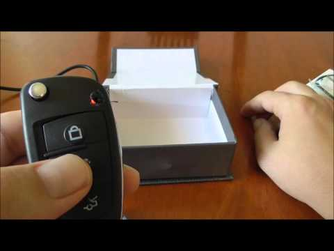 CCD S820 COVERT SPY CAM KEY FOB REVIEW