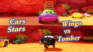 Disney Pixar Cars Wingo and Tomber , 2 player Cars 2 : The Video Game - Play on Timberline Sprint.