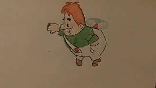 Как нарисовать, карлсон, для детей,