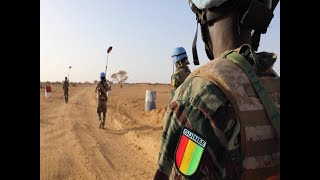 Thank you Guinea: UN Peacekeeping Service & Sacrifice