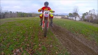 9. crf150rb to much power? 2013 crf150rb fighting for traction in dirt