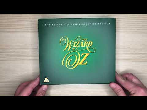 MGM's 1939 The Wizard of OZ 4K Blu-ray 80th Anniversary Special Edition Unboxing