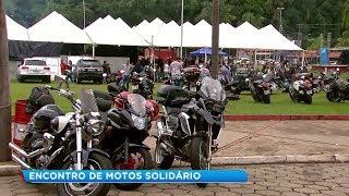 Encontro solidário em Garça reúne apaixonados por motos