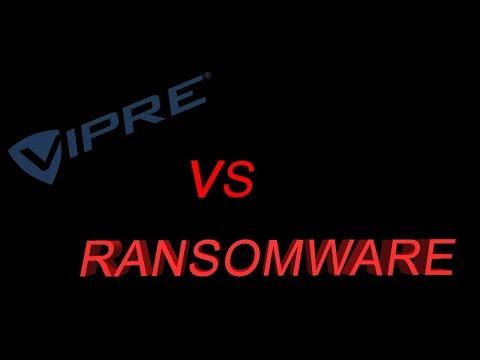 Vipre vs Ransomware