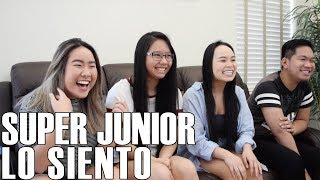 Video Super Junior (슈퍼주니어) - Lo Siento (Reaction Video) MP3, 3GP, MP4, WEBM, AVI, FLV April 2018