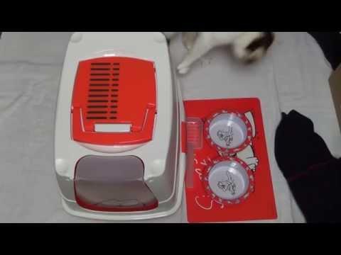 Unboxing ★ Simon's Cat Katzenzubehör (Katzentoilette, Fressnäpfe und Unterlage)