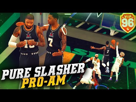 Adjust To Win! Michael Jordan Free Throw Line Dunk On 3 People! Nba 2k19 Pro Am (pure Slasher)