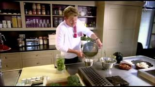 Gordon Ramsay cooking a simple and easily prepared, using common ingredients - the perfect meal. MORE GORDON RAMSAY RECIPES HERE: Crispy ...