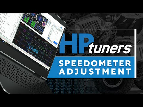 How To Adjust Your Speedometer | Jeep and Dodge | HP Tuners