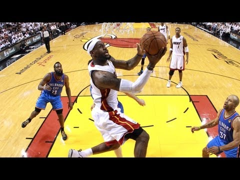 Top 5 Plays of NBA Finals, Game 5