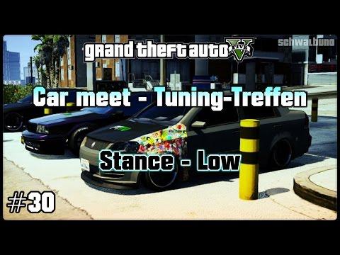 GTA 5 Online car meet #30 / Stance – JDM – Low (PS3) / Tuning-Treffen
