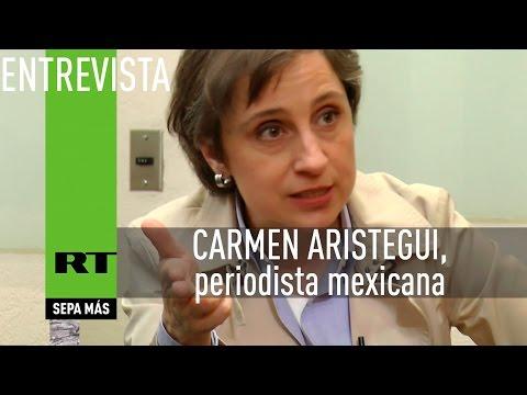 Entrevista en exclusiva con Carmen Aristegui