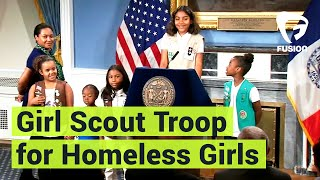 """Welcome to Troop 6000 and you'll have a whole lot of fun here.""