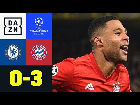 Chelsea - Bayern 0:3 - Gnabry und Lewy zerlegen die Lo ...