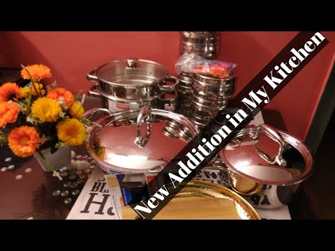New Addition In My Kitchen |My Cooking Utensils Collection / Cookware Haul / Vinod Cookware Haul