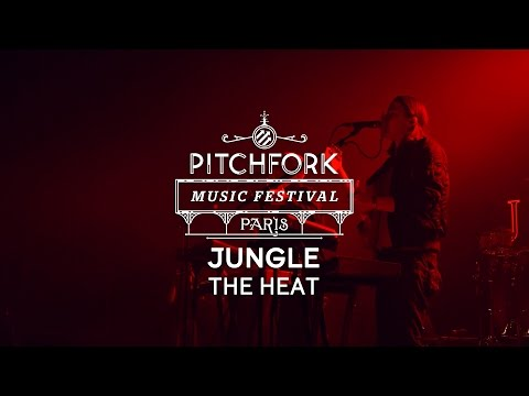 "Jungle  perform ""The Heat"" – Pitchfork Music Festival Paris"