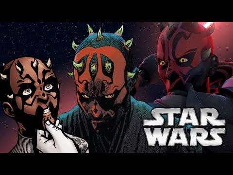 The Complete Story Of Darth Maul