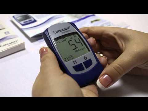 Youtube-видео: Глюкометр Сателлит Экспресс ПКГ-03