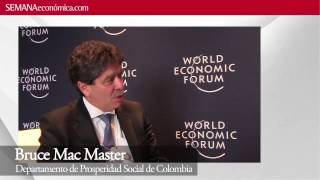 WEF 2013: Los programas de inclusin social en Colombia