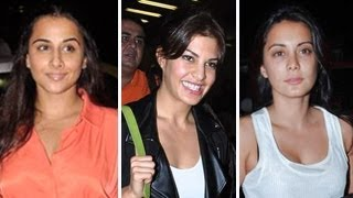 Bollywood Celebs Leave For IIFA Awards 2013 -Part 1