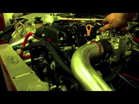Genesis Coupe: Haltech + 2860RS Turbo + Burnouts