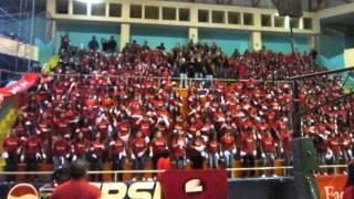 Barra de la Facultad de Derecho - Olimpiadas USAT 2012