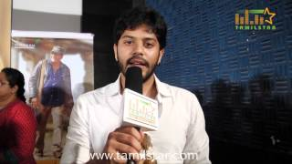 Tejas at Un Samayal Arayil Movie First Look Launch