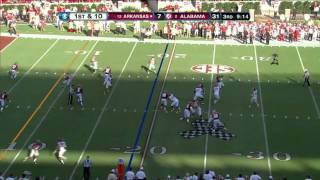 Dont'a Hightower vs Arkansas 2011