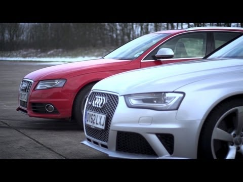 Audi S4 v Audi RS4. Does Supercharging Rule?