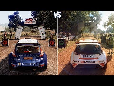 WRC 8 vs DiRT Rally 2.0 - Gameplay Comparison (HD) [1080p60FPS]