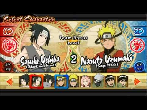 naruto shippuden ultimate ninja impact psp iso