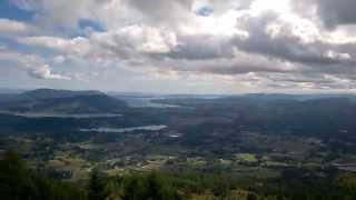 Duncan (BC) Canada  City new picture : Beautiful View From Mount Prevost. Duncan, B.C