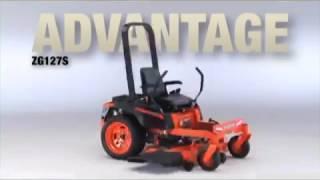 2. Kubota - Kommander Zero Turn Mower Advantage