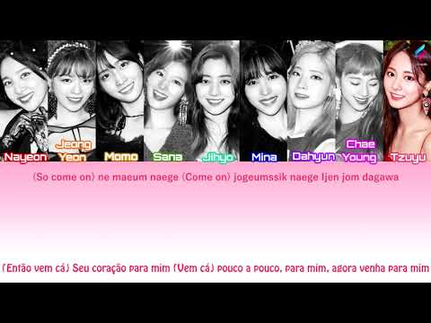 TWICE - Shot Thru The Heart [Legendado | Tradução PT-BR | ROM] Color Coded