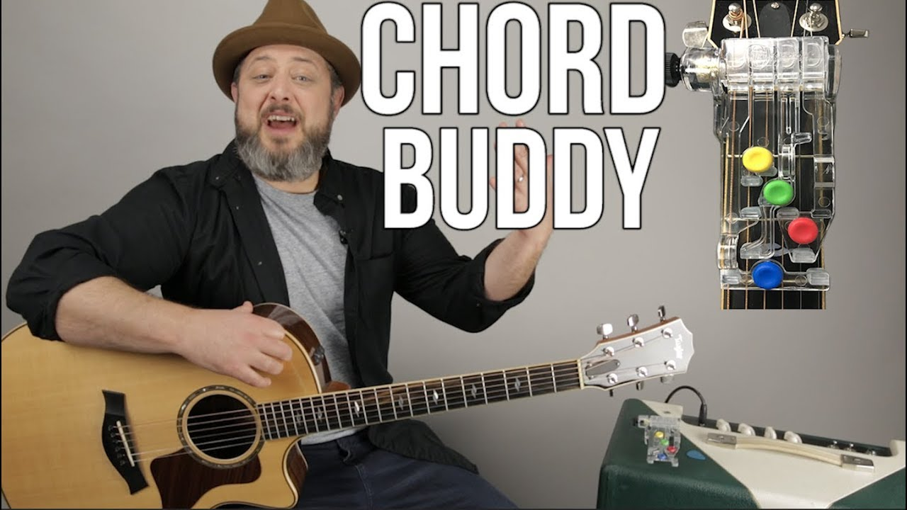 "Beginner Guitar Learning Tool The ""Chord Buddy"" – Beginner Guitar Lessons"