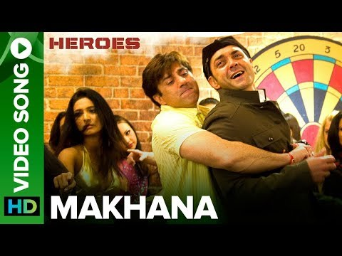 Video Makhana | Full Video Song | Heroes | Sunny Deol & Bobby Deol download in MP3, 3GP, MP4, WEBM, AVI, FLV January 2017