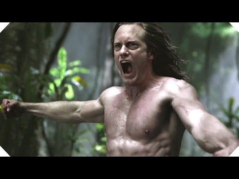 THE LEGEND OF TARZAN - ALL the Movie Clips (2016)