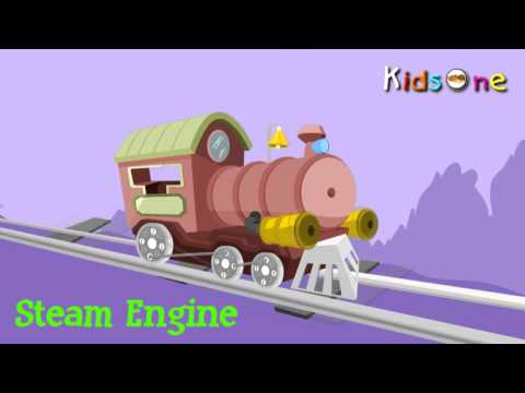 Types of Transports for Kids  With Animation