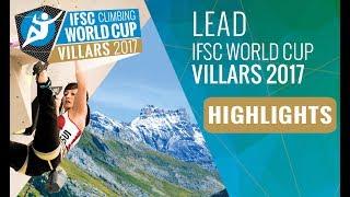 IFSC Climbing World Cup Villars 2017 - Lead - Finals Highlights by International Federation of Sport Climbing