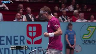 Watch highlight as Andy Murray remains unbeaten against John Isner. Watch live tennis at tennistv.com. ]