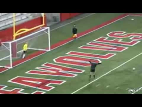 Cartwheeling Goalie Gets Owned