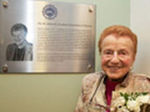 Einweihung des Dr. Lillian R. Goodman Department of Nursing