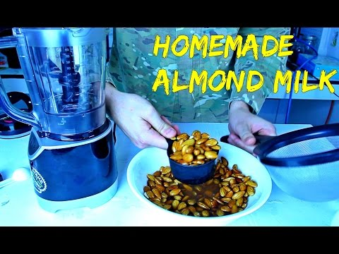 Homemade Almond Milk – Food Hack
