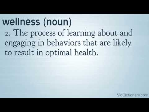 wellness – definition