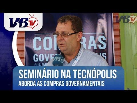 VBTv | Semin�rio aborda micro e pequenas empresas em Licita��es
