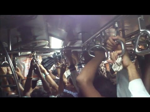 Inside Crowded Local Train